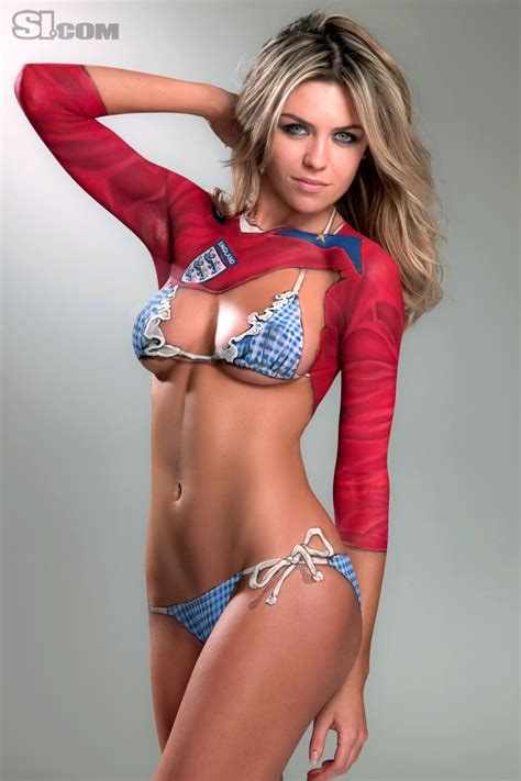 foto body painting wags piala dunia bolanet