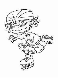 Rocketpower Colouring Picture Rocketpower Colouring Wallpaper