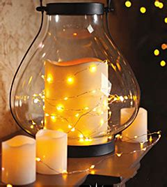 warm white led string lights battery operated  feet