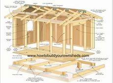 16 X 16 Shed With Loft Plans Joy Studio Design Gallery