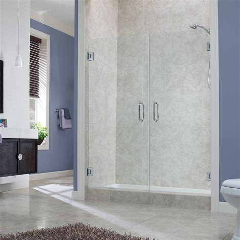 marina collection  frameless french doors foremost bath