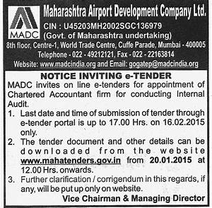 Empanelment: Maharashtra Airports Development Company Limited