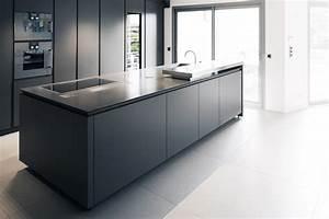 cuisine avec ilot central plaque de cuisson maison With plan de travail cuisine avec evier integre