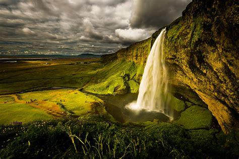 Seljalandsfoss Waterfall In Iceland Traveleering