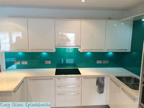 white kitchen with green glass splashback coloured printed glass splashbacks glass shower walls 2105