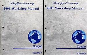 1999 Mercury Cougar Service Shop Repair Set Oem 2 Volume Service Set And The Wiring Diagrams