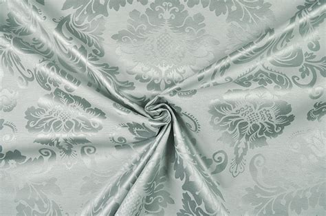Outdoordekostoff  Barockornament  Grau  Online Kaufen