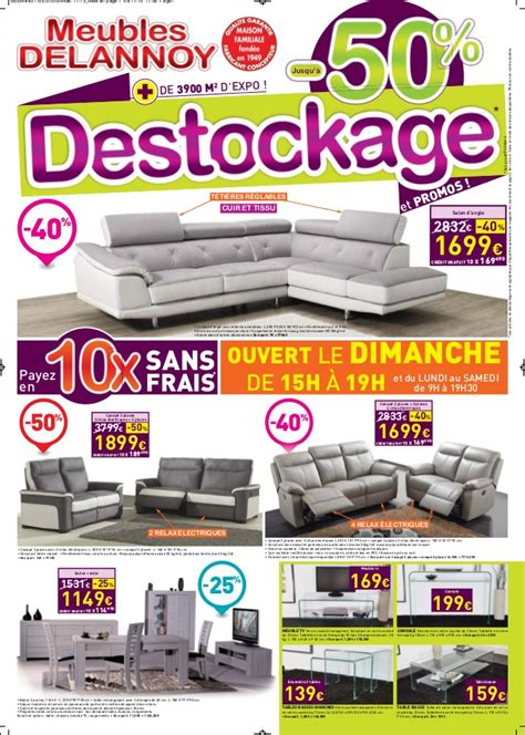 destockage canap belgique meubles delannoy destockage 2015