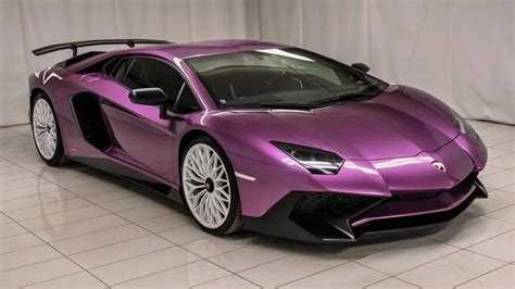 yikes   lamborghini aventador  diablo purple top