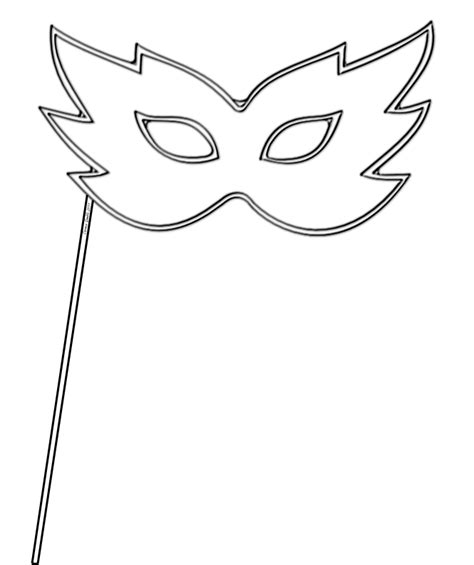 Masquerade Mask Template For Adults by Mask Coloring Pages Az Coloring Pages