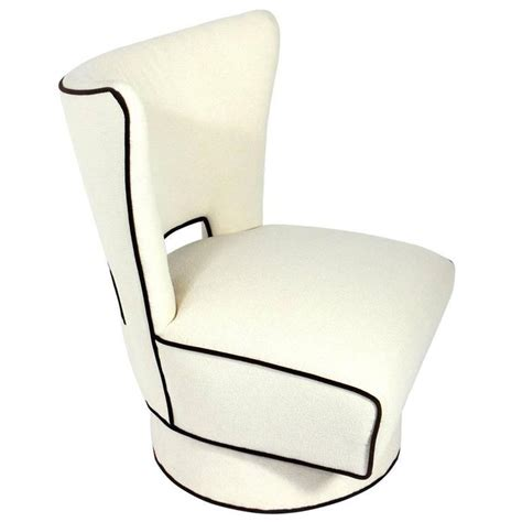 large scale modern swivel lounge chair for sale at 1stdibs