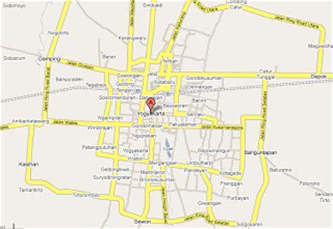yogyakarta maps yogya city map