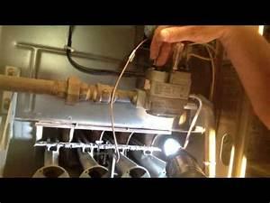 Honeywell Gas Heater Pilot Light Pilot Light Won 39 T Stay Lit How To Replace A Broken