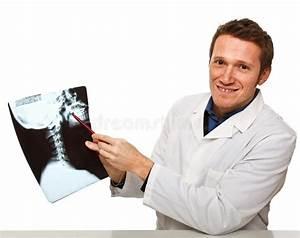 Xray And Doctor Stock Image  Image Of Uniform  Health