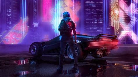 wallpaper cyberpunk  futuristic sci fi games woman