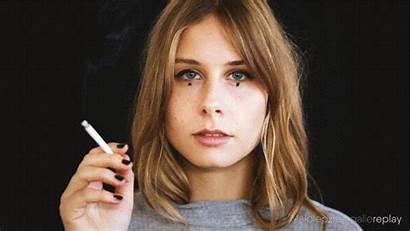 Smoker Female Cinemagraph