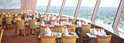 skylon tower revolving dining room restaurant summit suite wedding and bookings