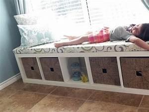 etagere kallax ikea 69 idees originales de l39utiliser With tapis chambre enfant avec banc canapé
