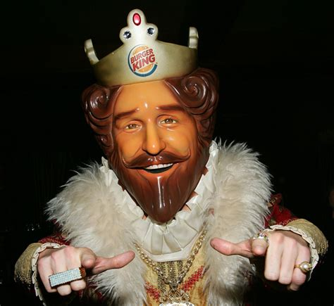 Amazon Com Burger King The Lord Of The Burger King In Water With Belgian Monarchy Ad