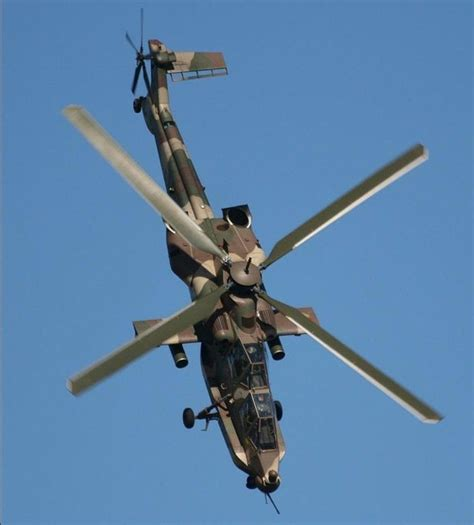 Attack Helicopter Denel Ah-2 Rooivalk (south Africa
