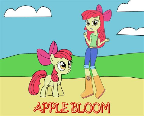 Two Apple Blooms By Equestriaguy637 On Deviantart