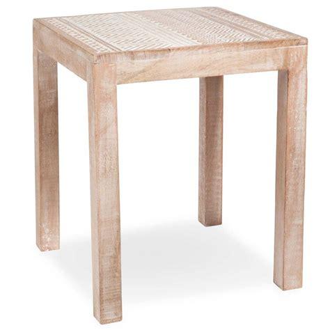 bout de canapé en bois bout de canapé en bois l 35 cm kakongo maisons du monde
