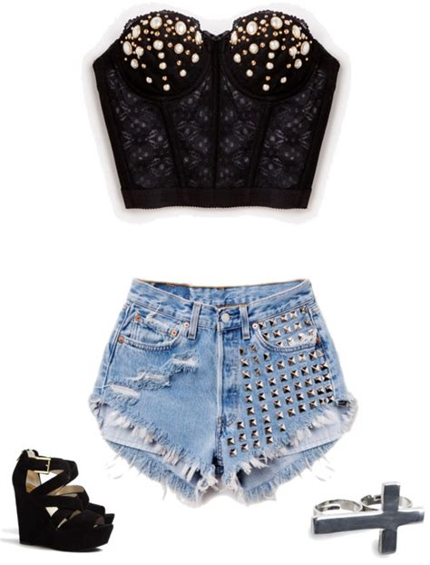 rock style fashion  outfit ideas  stylish combinations