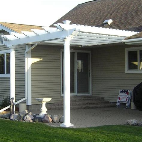 vinyl pergolas vinyl garden patio covers from vinyl