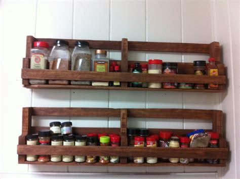 Spice Rack Design by Diy Pallet Spice Racks For Kitchen Pallets Designs