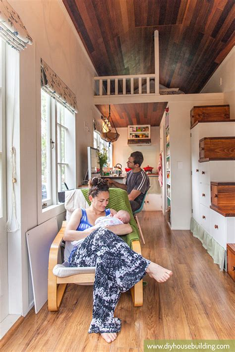 living in a tiny house tiny house pictures in our tiny trailer house one