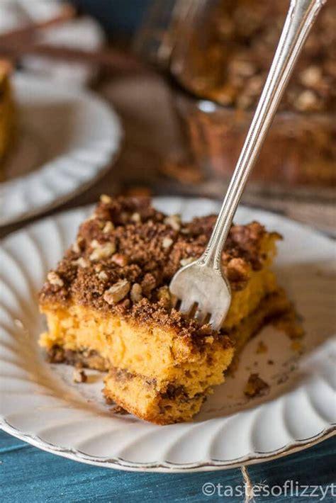 butterscotch coffee cake  brown sugar pecan streusel