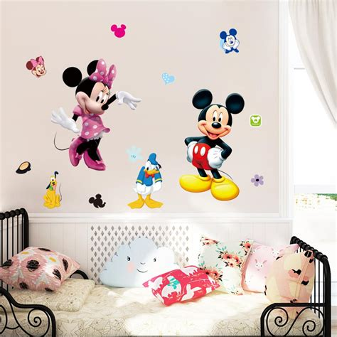 Mickey Mouse Decorations For Bedroom by Mickey Mouse Wall Stickers For Nursery