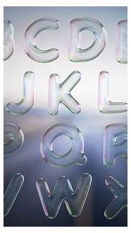 Bubble Text 3D Letters Set on Behance