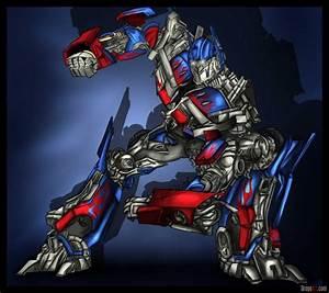 Transformer Drawings Optimus Prime | www.pixshark.com ...