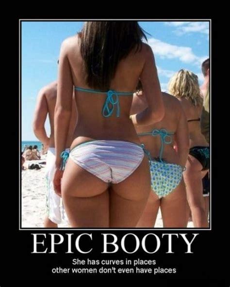 Booty Memes - beach wear booty demotivational posters