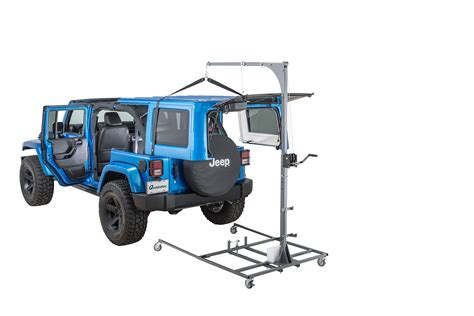 Jeep Lange Originals® 014-100 Hoist-a-cart