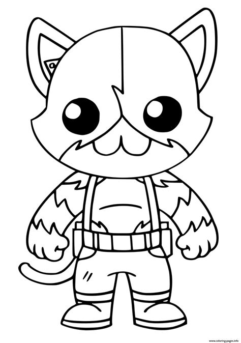 meowscles top secret fortnite coloring pages printable