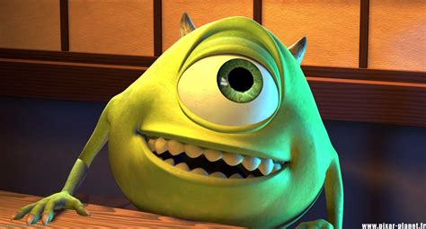 Mike Wazowski From Monsters Inc Pixar Planetfr