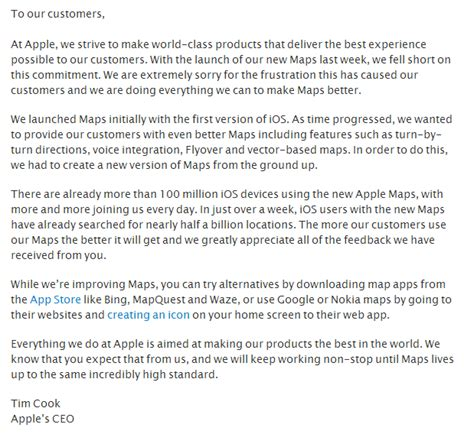 few credits of ba on cover letter two lessons in customer support from apple