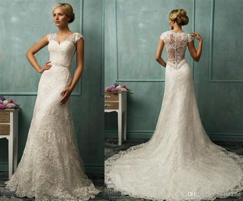 Wedding Dresses With Sleeves : 17 Best Ideas About Cap Sleeve Wedding On Pinterest
