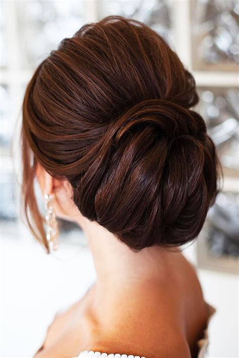 25 wedding low buns ideas that you will like on