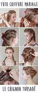 Tuto Coiffure Cheveux Court : tuto coiffure mariage comment r aliser un chignon ~ Melissatoandfro.com Idées de Décoration