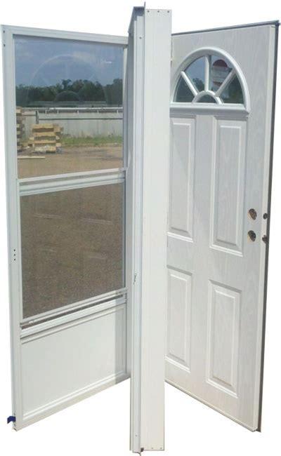 36x80 Steel Door Fan Window Lh For Mobile Home