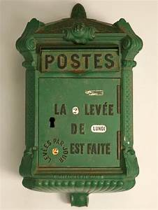 Boite Aux Lettres Vintage : boite aux lettres vintage bo tes lettres pinterest boxes posts and antiques ~ Teatrodelosmanantiales.com Idées de Décoration