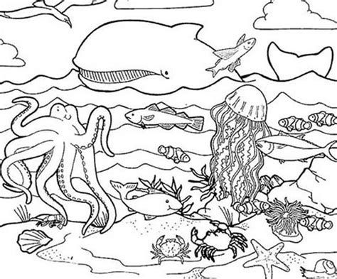 Coloring Pages Under The Sea Free Printable Coloring Pages