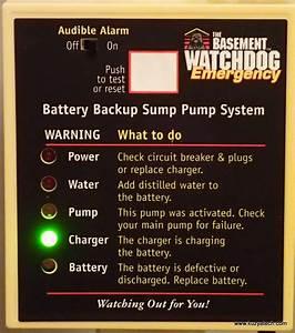 17 Basement Watchdog Big Dog  Watchdog Backup Sump Pump
