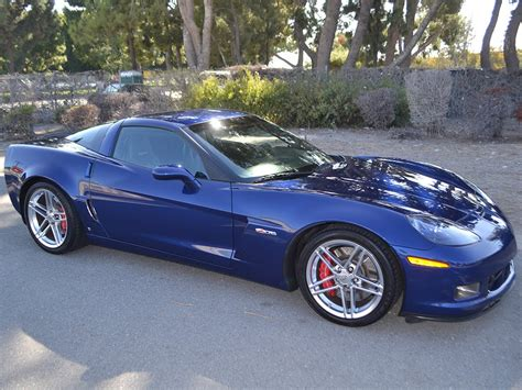 Sold 2007 Chevrolet Corvette Zo6 Coupe For Sale By