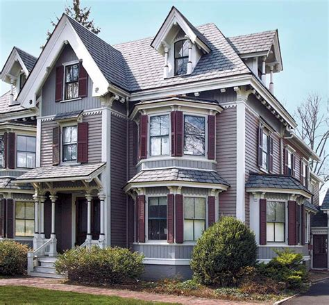 12 for victorian polychrome paint schemes house restoration products decorating
