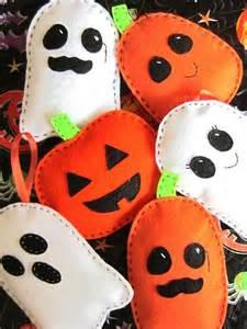 Halloween Felt Sewing Patterns Crafts