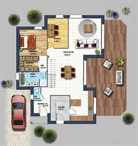 constructeur maison moderne longeville sur mer vendee 85 With plan de maison 100m2 8 projets immobiliers loire atlantique 44